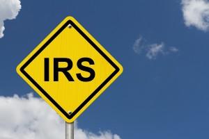 IRS Warning Sign